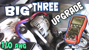 how to install big three upgrade exo s big 3 car audio wiring how to install big three upgrade exo s big 3 car audio wiring tutorial to increase power flow
