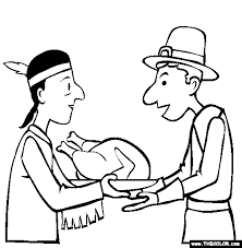 Small Picture thanksgiving coloring page happy thanksgiving day thanksgiving