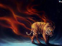 Abstract Fire Tiger Wallpapers Hd ...