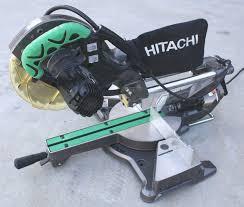 hitachi 8 1 2 miter saw. hitachi c8fshe 8-1/2\ 8 1 2 miter saw h