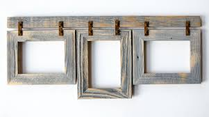 rustic picture frames collages.  Rustic Barnwood Collage Frame 3 5x7 Multi Opening Rustic Picture  To Frames Collages G
