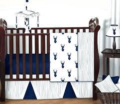 navy crib bedding set navy blue and grey crib bedding navy blue grey deer baby boy navy crib bedding