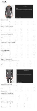 Rebel Sport Clothing Size Chart Oakley Mens O Singlet