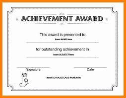 Ms Word Award Template Free Award Certificate Template Microsoft Word 5 Proto
