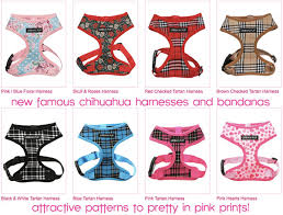 Dog Harness Pattern Interesting New Pattern Dog Harnesses And Bandanas Famous Chihuahua