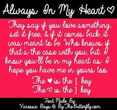<b>Always In My Heart</b> Font | dafont.com