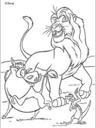 Kleurplaten The Lion King Topkleurplaatnl