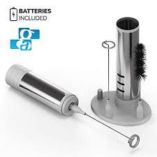 GA Electric Milk Frother Set 3-in 1 - Handheld Battery ... - Amazon.com