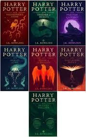 harry potter book covers by olly moss