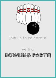 Bowling Party Invitations Free Printable Bowling Birthday Party Invitation Celebrate Kid
