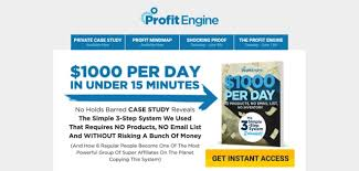 Simple Products Profit Is Profit Engine Worth 2 497 Can You Make 1 000s Daily