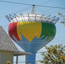 Beach ball in ocean Soccer Beach Ball Adobe Stock 08252016 beach Ball Tower Takes Shape Ocean Citys Logo Will