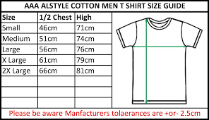 Aaa T Shirt Size Chart 23 True To Life Alstyle Apparel Sizing Chart