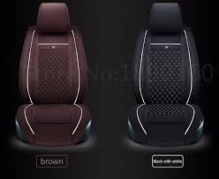 newly special leather car seat cover for seat all models black gray red blue car accessories