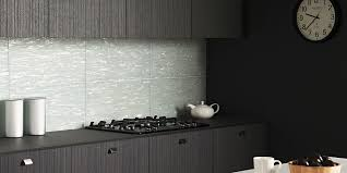 tiles for a small kitchen reflective large format brick