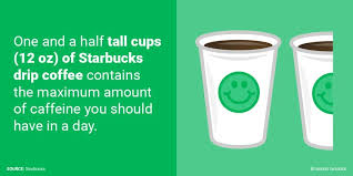 On average you can expect to get around 95 mg of caffeine in your one cup of coffee. What A Daily Serving Of Caffeine Looks Like