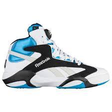 reebok basketball shoes blue. reebok shaq attaq - men\u0027s basketball shoes blue