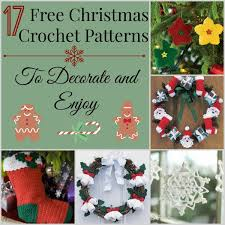 Free Christmas Crochet Patterns Custom 48 Free Christmas Crochet Patterns To Decorate And Enjoy