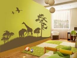 jungle theme wall painting 800x600