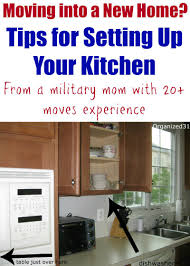 Kitchen Setting Moving Into A New Home How To Set Up Your Kitchen Classic Lady