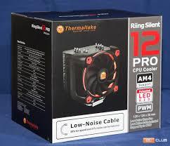 Обзор процессорного <b>кулера Thermaltake Riing</b> Silent 12 Pro Red ...