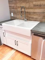 vibrant ideas counter depth farmhouse sink architecture
