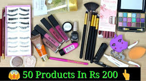 all under rs 200 beginners makeup kit ultra affordable makeup thatglam