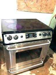 glass top stove replacement flat stoves stainless steel gallery frigidaire warranty