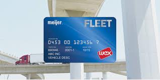 meijer fleet services card