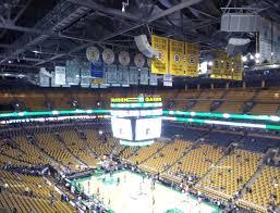 Boston Bruins Arena Seating Chart Td Garden Balcony 327 Seat Views Seatgeek