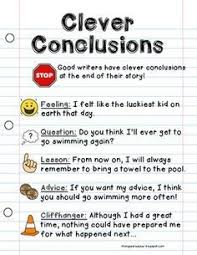 best writing strategies images teaching writing  conclusion writing sentences poster writing anchor chart