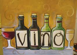 wine and canvas paintings beautiful wine bottle paintings canvas