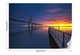 Ponte Vasco Da Gama Fotobehang Behang Bestel Nu Op Europostersbe