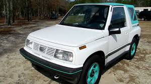 1994 GEO TRACKER FOR SALE CHARLESTON SC REVIEW - YouTube