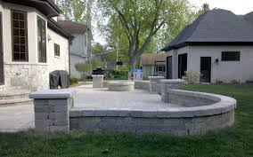 Seating Wall Blocks Gallery Of Patios And Retaining Walls