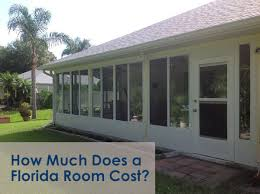 sunroom florida room cost