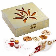 laser cut design gift box and rakhi her