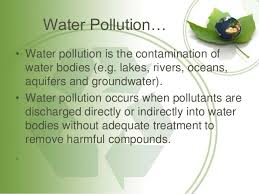 pollution its types causes and effects by naveed m water pollution