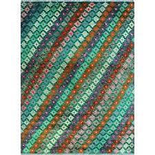 teal and orange rug green runner uk