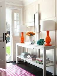 entry table decorations. How To Decorate Entryway Table Colorful Console Foyer Entry Decorations