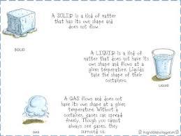 First Grade Fanatics Solid Liquid And Gas