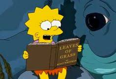 there s oprah s book club and then there s the other lesser known book club by lisa simpson who is arguably one of the most well read cartoon characters