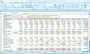 Financial Forecasting Excel Templates Excel Template For Financial Projections Barca Fontanacountryinn Com