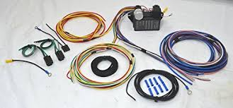 12 circuit universal wire harness muscle car hot rod stre s 8 Circuit Wiring Harness Universal Wiring Harness Hot Rod #41
