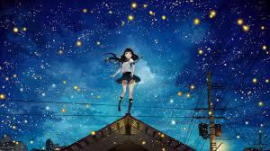 night anime scenery wallpaper. Exellent Wallpaper Anime Scenery At Night Wallpaper And Wallpaper N