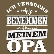 Familienoberhaupt Opa Spruch Männer Premium T Shirt Schwarz