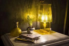 Lampada Da Tavolo Take Giallo