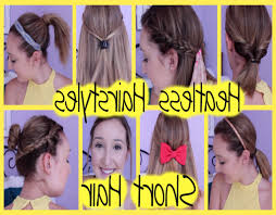 Short Hair Cute Hairstyles Nice Easy Hairstyles For Short Hair Fusion Hair Extensions Nyc