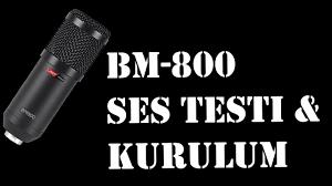 LastVoice BM - 800 Condencer Mikrofon Ses Testi & Kurulumu ! - YouTube