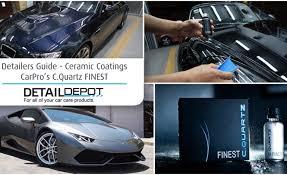 detailers guide ceramic coatings c quartz finest